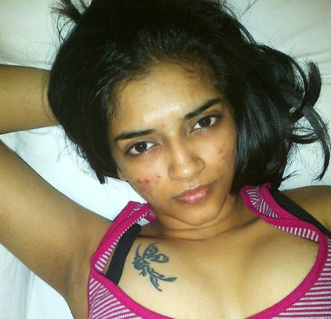 South Indian actress Vasundhara Kashyap's topless photos leaked