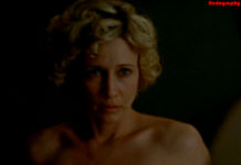Topless boobs of Vera Farmiga from movie Never Forever
