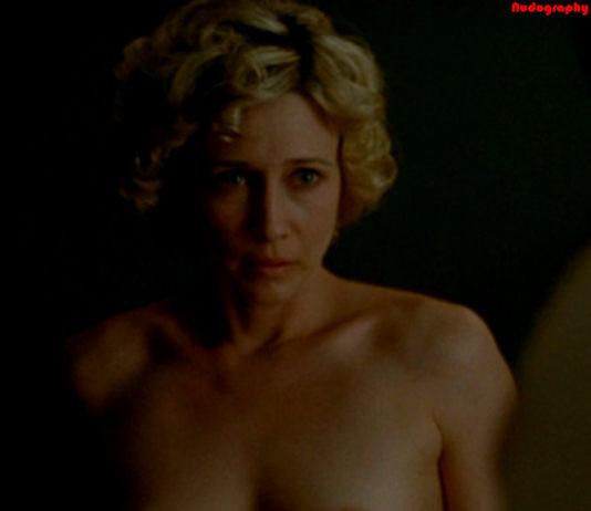 Topless boobs of Vera Farmiga from movie Never Forever