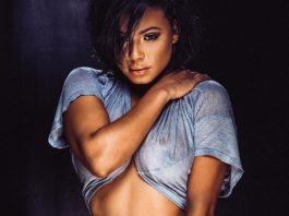 Christina Milian latest sexy photoshoot see through nipples shots 2018