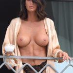 Sexy Model Claudia Galanti topless photos