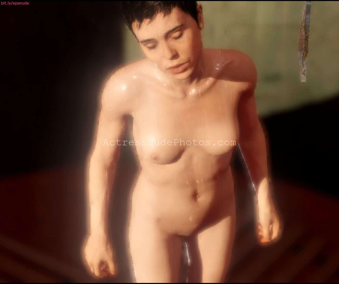 3d beyond two souls games shower all naked uncensored 9